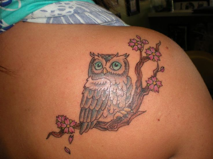 Inspirational tattoos Lovely Owl Tattoos