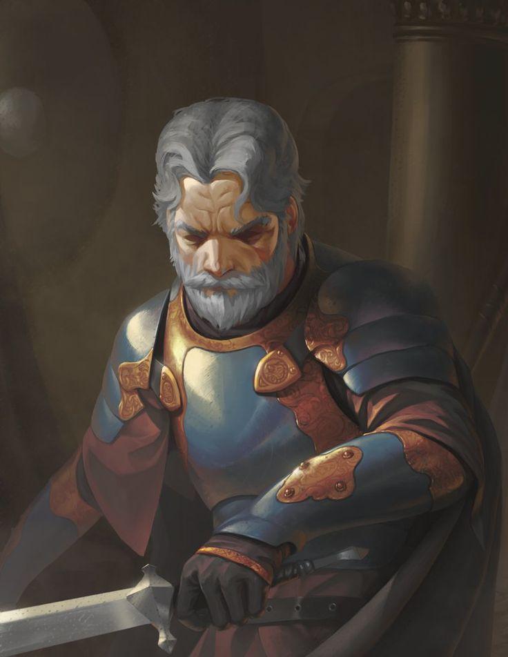 Old Warrior by 632Fan.deviantart.com on @DeviantArt