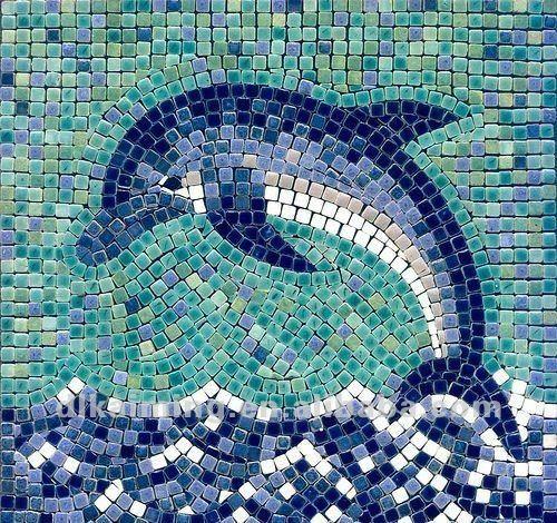 Diseño de dibujo del mosaico