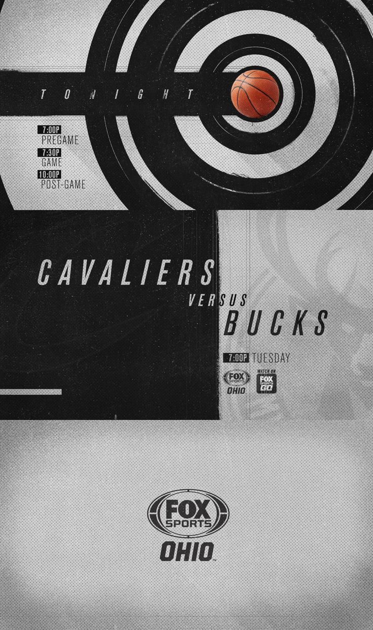 """Check out this @Behance project: """"FOX SPORTS OHIO 