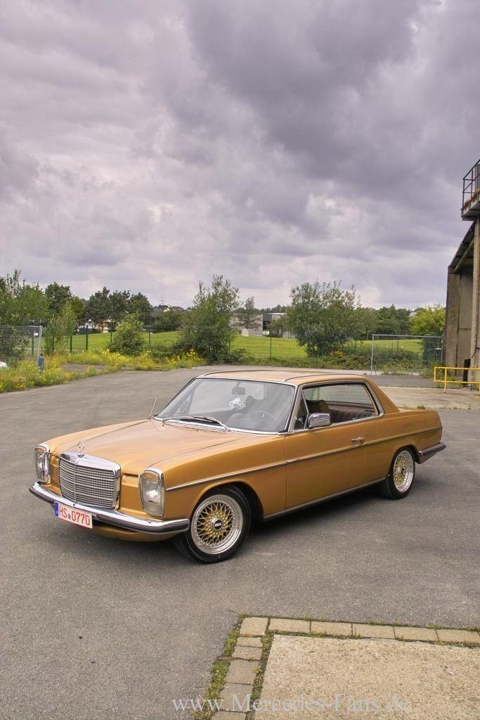 Oldie & Goldie:Mercedes 280 CE (W114): 72er Strich-Acht als automobiles…