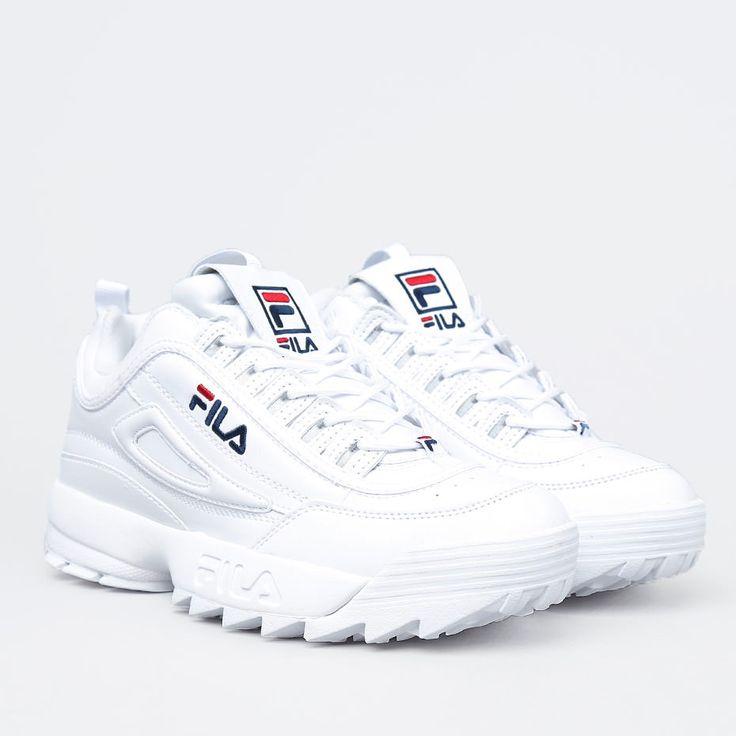 Hvide fila sko