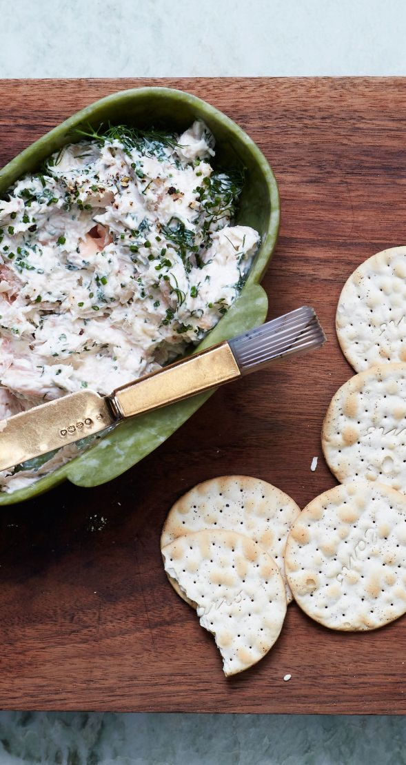 Lemony smoked trout dip recipe: What your crackers have been missing.