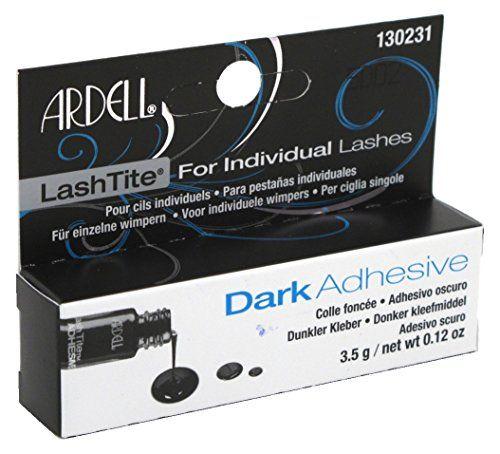 From 2.49:Ardell Lashtite Adhesive Dark 0.125oz Bottle (Black Package) (2 Pack)