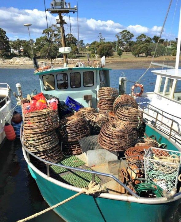 Triabunna: Fishing Boat ~ article and photo for think-tasmania.com ~ #Tasmania #Fishing #boat #EastCoastTas