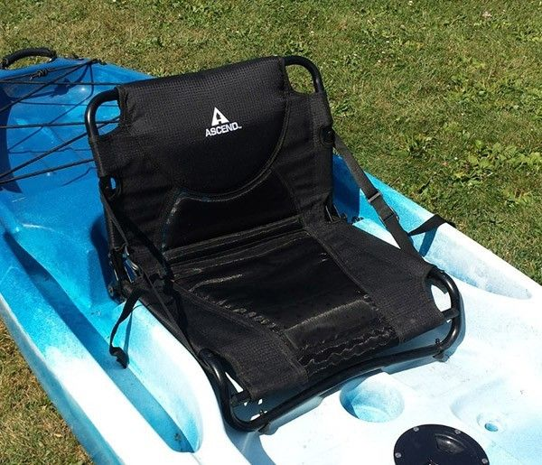 This simple Kayak seat upgrade to your Ascend D10T Kayak will cure wet butt/numb butt forever.