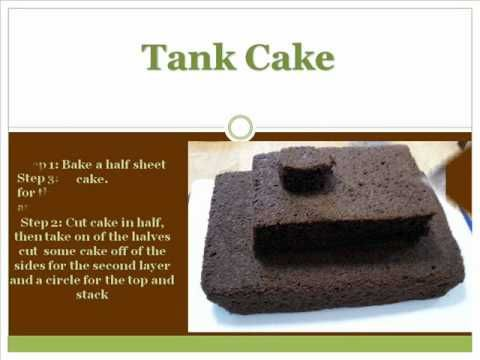Tank Cake and more...