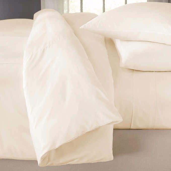 Ivory Jennifer Adams Home Luxury Duvet Cover California King/King sensitive skin #JenniferAdamsHome