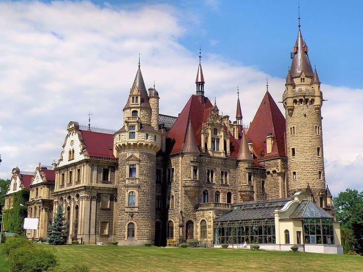 Zamek w Mosznej ładny - Pałac w Mosznej – Wikipedia, wolna encyklopedia