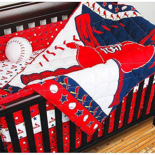 St. Louis Cardinals 4-Piece Crib Set - MLB.com Shop