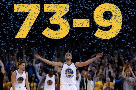 Golden State Warriors Set NBA Record with 73 Wins