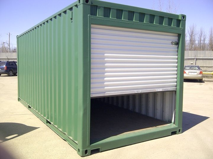 Shipping container garage ideas for Large garage kits