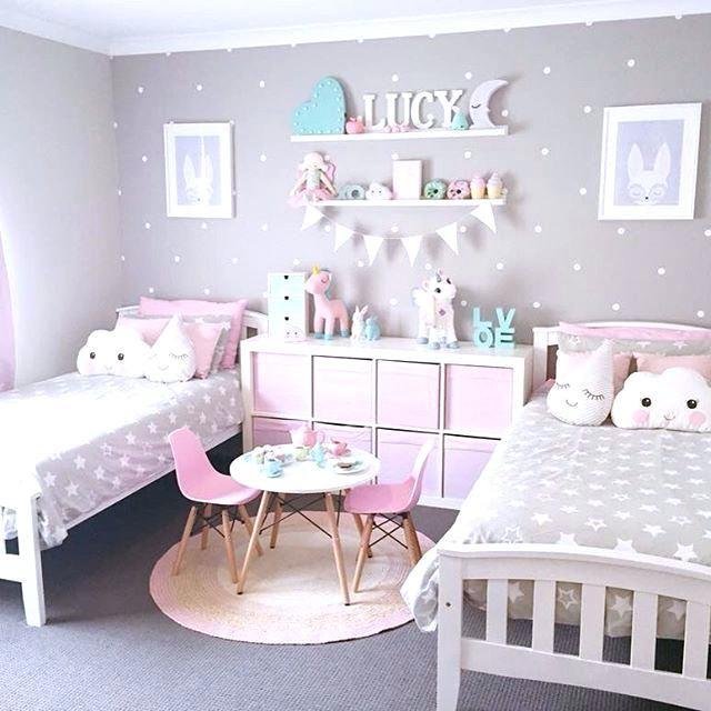 Idées de chambre de fille #décoration #décorationchambre