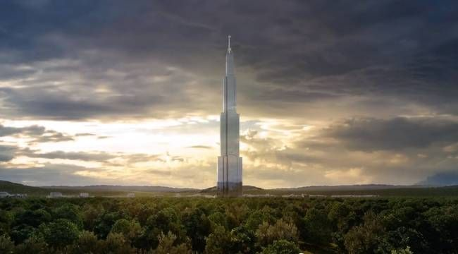 One Building, One City: World's tallest prefab, Sky City, is breaking ground in June : TreeHugger