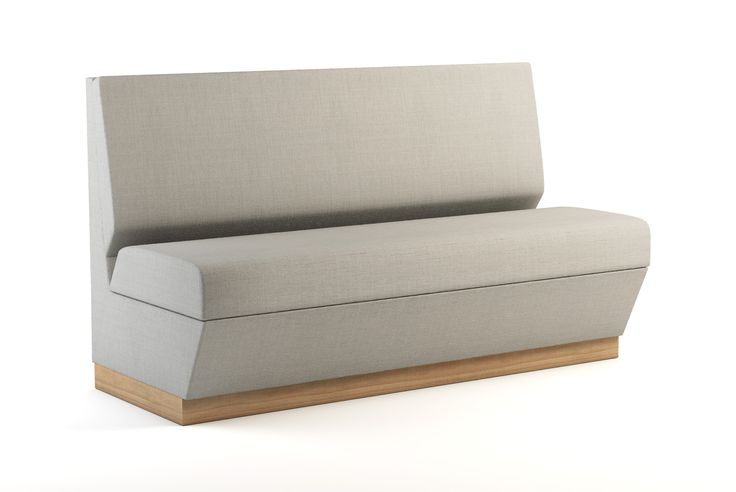 Napoli Gray 60 inch Banquette with Clean Out Home decor