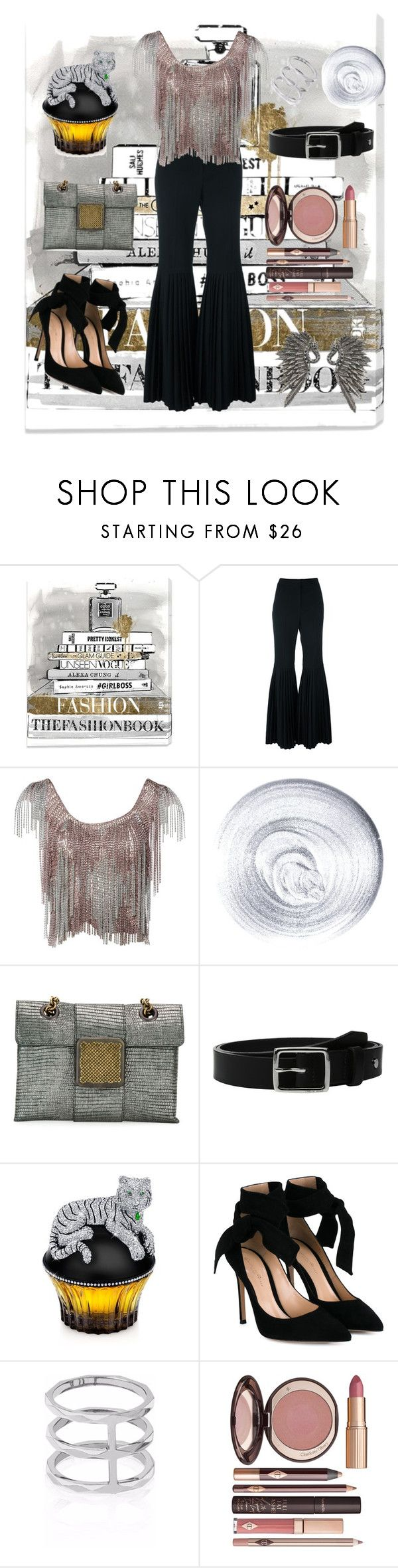 """""""Chains"""" by spookie1 ❤ liked on Polyvore featuring Oliver Gal Artist Co., STELLA McCARTNEY, Azzaro, Guerlain, Bottega Veneta, rag & bone, House of Sillage, Gianvito Rossi, Edge of Ember and Charlotte Tilbury"""