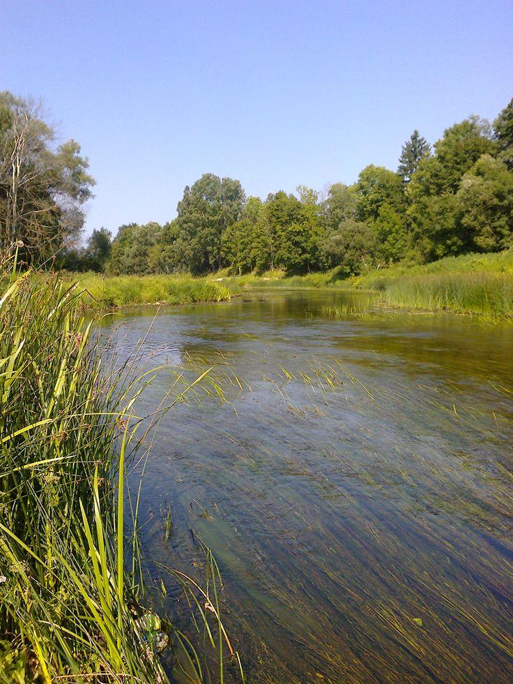 rzeka Niemenek na Litwie Nemunėlis