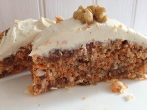 Raw Vegan Carrot Cake. Easy to make in 20 minutes -great recipe. See Shine on Raw.