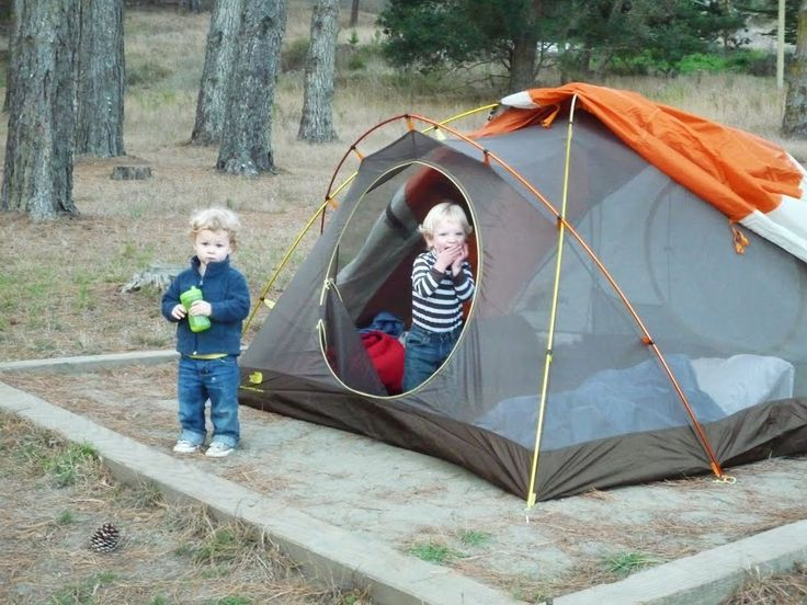 tips for camping with toddlers @Monica Reese
