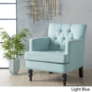 malone club chair by christopher knight home free shipping today