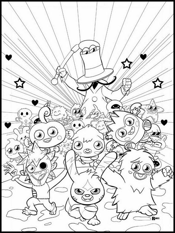 Moshi Monsters 11 Ausmalbilder Fur Kinder Malvorlagen Zum Ausdrucken Und Ausmalen Ausmalbilder Ausmalbilder Zum Ausdrucken Malvorlagen Zum Ausdrucken