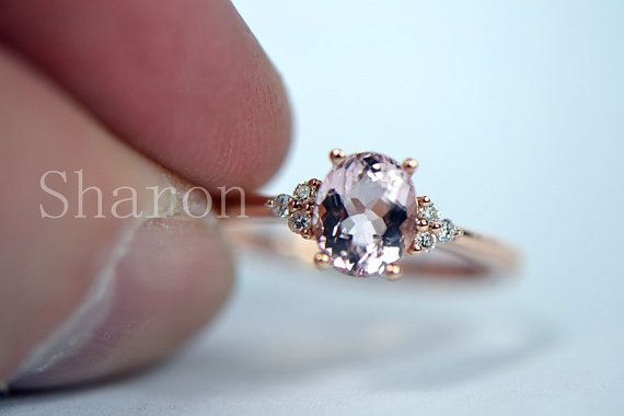 Hey, I found this really awesome Etsy listing at https://www.etsy.com/listing/175236394/57mm-oval-cut-vvs-morganite-prongs