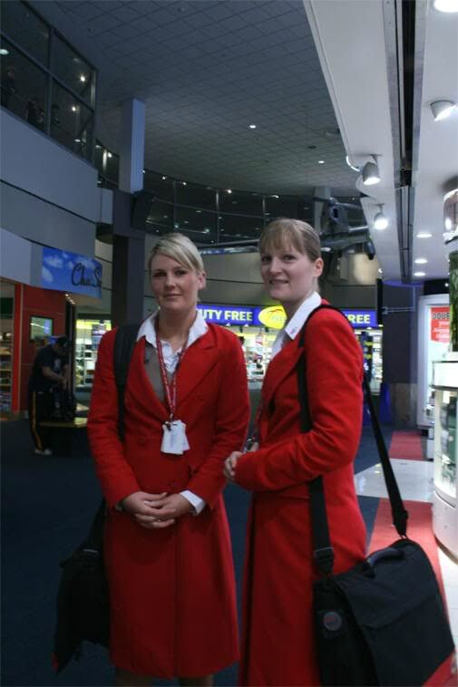 Pacific Blue Cabin Crew Auckland Airport