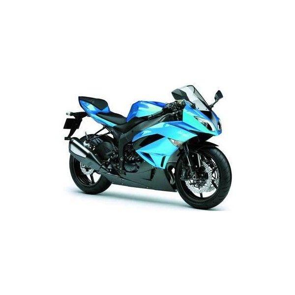 Overview Kawasaki Ninja ZX-6R Motorcycle ❤ liked on Polyvore