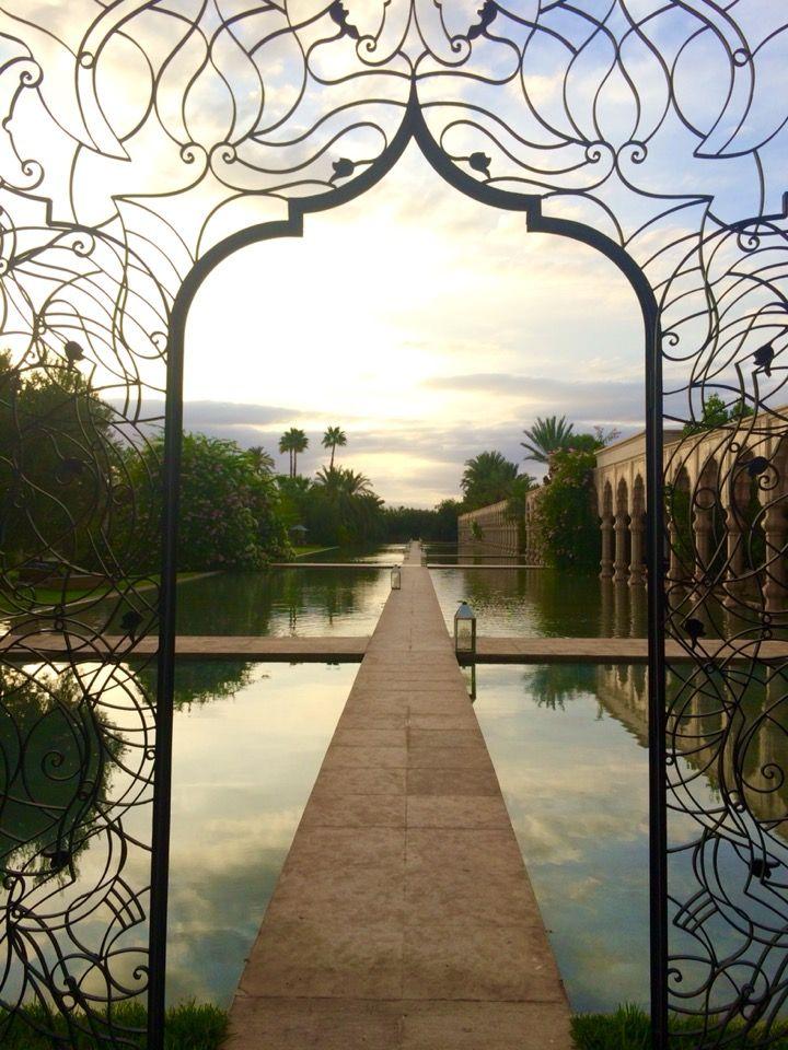Beautiful Pool/Waterfront Palais Namaskar Marrakech in مراكش, Marrakech-Tensift-Al Haouz