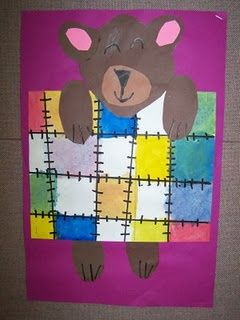 kindergarten art pattern - Google Search