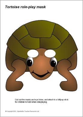 Tortoise role-play masks (SB3017) - SparkleBox