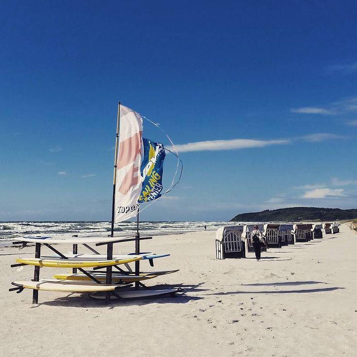 #Sturm auf der Insel #Hiddensee.  #storm #beach #balticsea #bluesky #sturmtief #renate #strand #ostsee