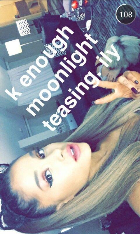 Ariana Grande snapchat | Ariana Grande selfie | Ariana ...