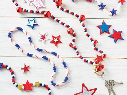 Patriotic Kid Necklaces
