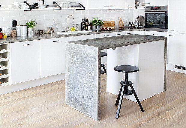 Zdjecie Nr 7 W Galerii Beton Architektoniczny We Wnetrzach Modnie I Z Pomyslem Interior Design Kitchen Concrete Kitchen Kitchen
