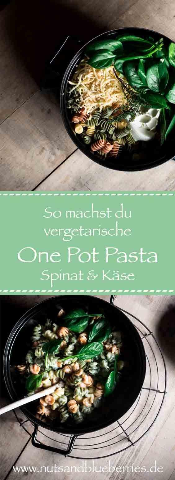 One Pot Pasta Rezepte Vegetarisch – alles aus einem Top! Schnell, einfach, simpe…