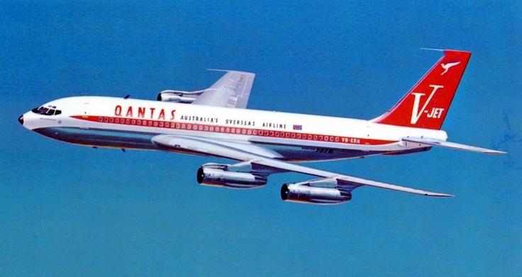 707-138B Qantas Empire Airways V-Jet