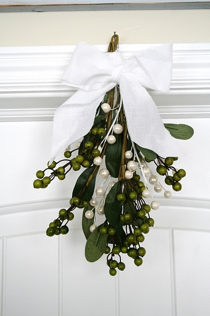 Wonder if we'll find any mistletoe in our guest rooms this year...