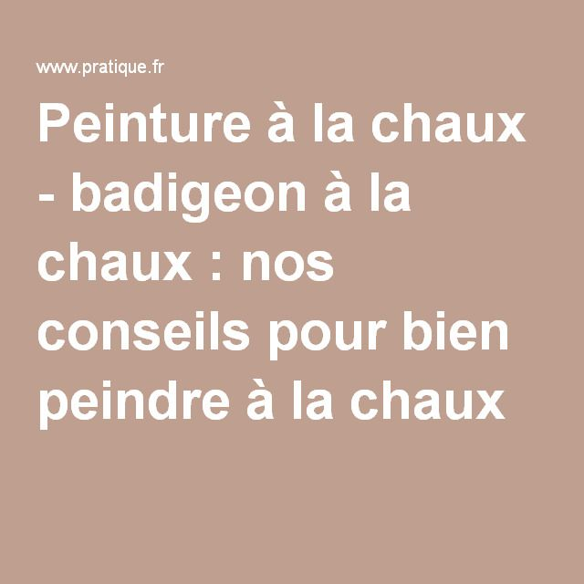 25 best ideas about peinture la chaux on pinterest for Enduit a la chaux