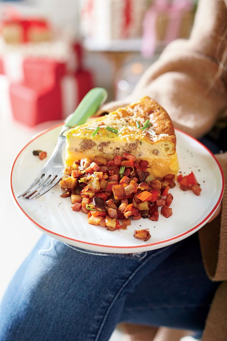 Breakfast casseroles are the easiest way to feed a crowd for breakfast or brunch, and a timeless breakfast casserole is the quiche. This version of quiche features one of our favorite Southern dishes—cheese grits. Make this crustless quiche in a springform pan for a pretty (and sliceable) presentation. You can cook the cheese grits and sausage up to two days in advance and then bake the quiche the morning of the brunch.