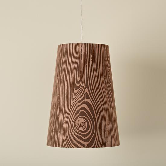 Woodgrain Pendant Lamp in Sale Lighting   The Land of Nod