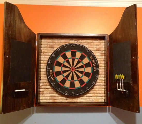 DIY Dartboard Cabinet | Dartboard Cabinet Build - Woodworking Talk ...