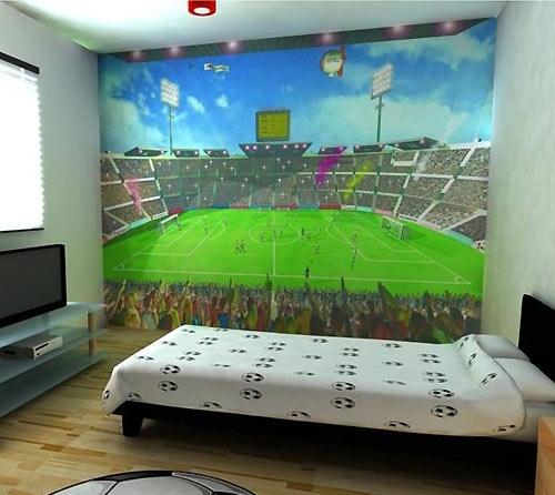 Childrens Football Bedroom Ideas: 40 Best Soccer Themed Kids Room Ideas Images On Pinterest