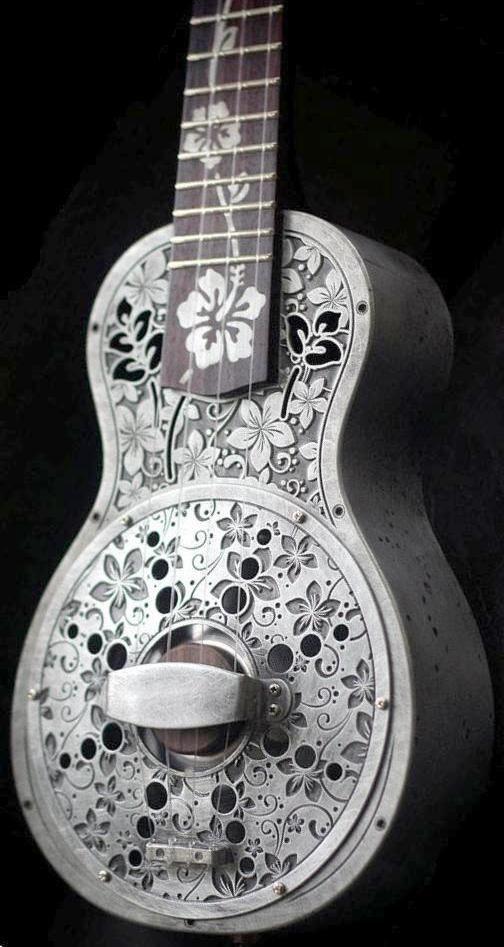 Bluebird'56 Soprano Resonator Ukulele --- https://www.pinterest.com/lardyfatboy/