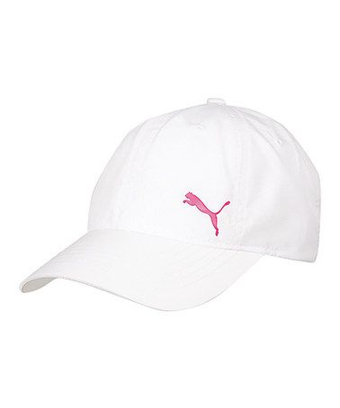 f4e05089fe8 This White   Pink Apex Running Baseball Cap - Women   Men by PUMA is  perfect!  zulilyfinds