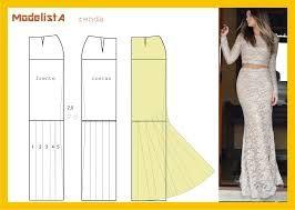 patrones de faldas - Buscar con Google