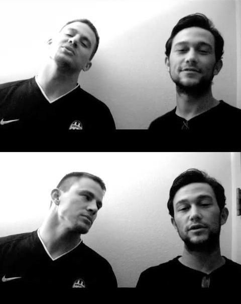Guess who are real friends in real life? Channing Tatum & Joseph Gordon-Levitt!