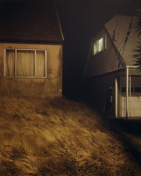 Todd Hido's work has an unmistakably eerie feeling that resonates with the viewer long after they have finished perusing his site. There is a story to be told behind each picture and that story is left entirely to the viewer.
