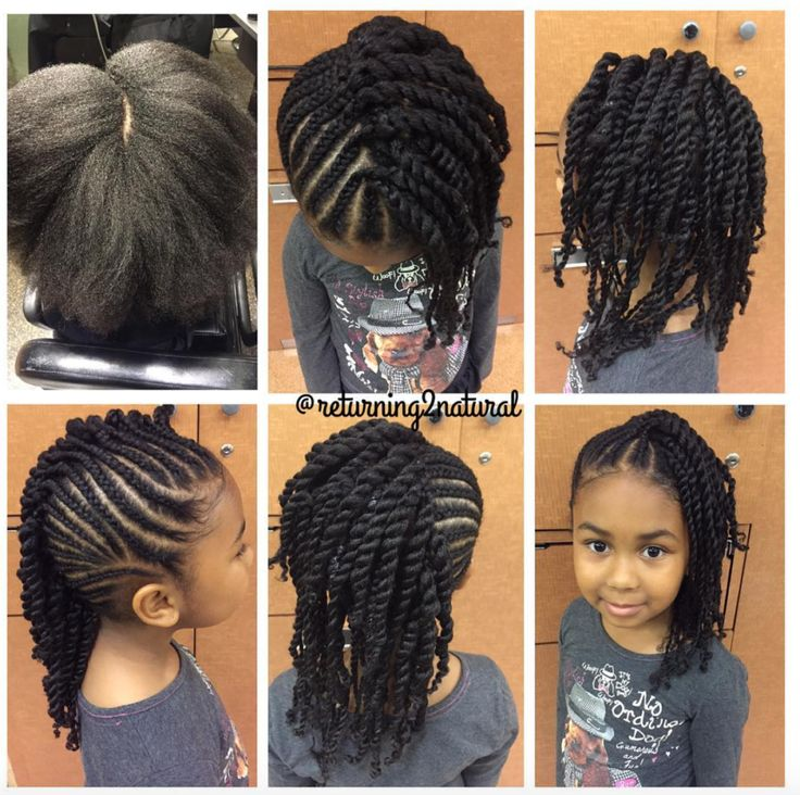 Brilliant 1000 Ideas About Black Kids Hairstyles On Pinterest Kid Hairstyles For Women Draintrainus