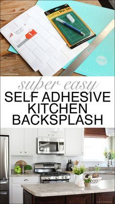 best 20+ adhesive backsplash ideas on pinterest | adhesive tiles